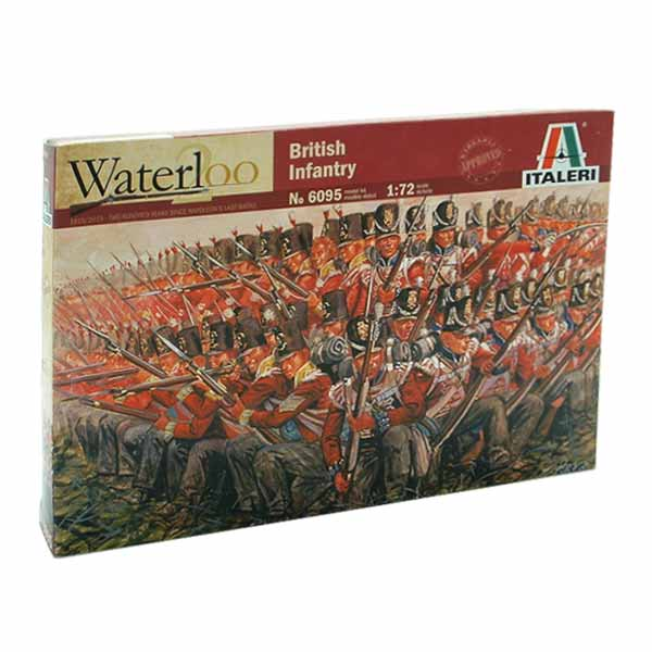 British Infantry 1815 ITALERI SCALA 1:72