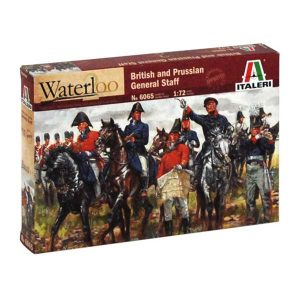 British and Prussian General Staff della Italeri in Scala 1:72