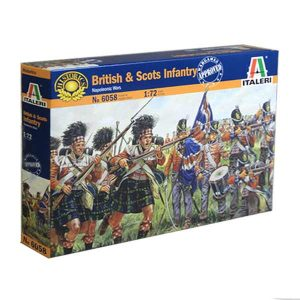 British and Scots Infantry Italeri Scala 1-72