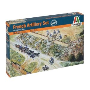 French Artillery Set - Napoleonic Wars ITALERI Scala 1:72