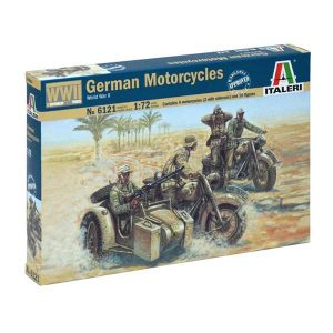 german motorcycle WWII italeri scala 1-72