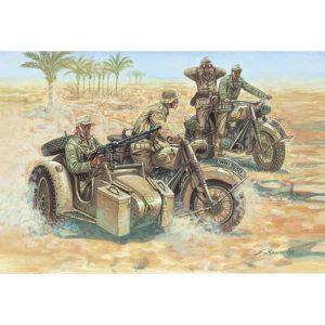 german motorcycle WWII italeri scala 1-72