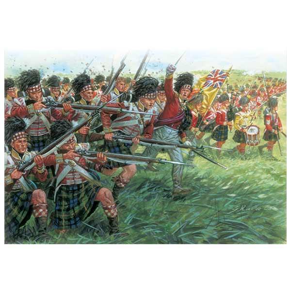 Scots Infantry Italeri Scala 1-72