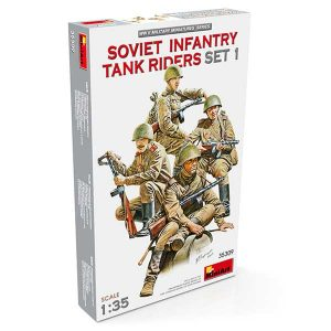 Soviet Infantry Tank Riders (Set 1) Miniart Scala 1:35