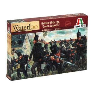 WATERLOO (200years) 95th rgt. Green Jackets italeri scala 1:72