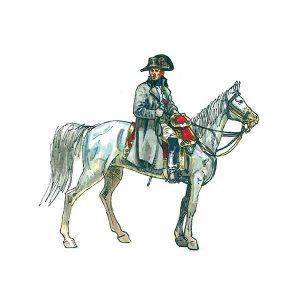 Napoleon genereals Staff Italeri scala 1:72