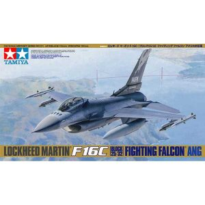 F-16 C Fighting Falcon Block 25/32 Lockheed Tamiya Scala 1:48