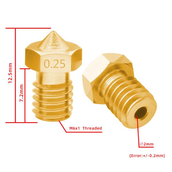 nozzle v6 m6