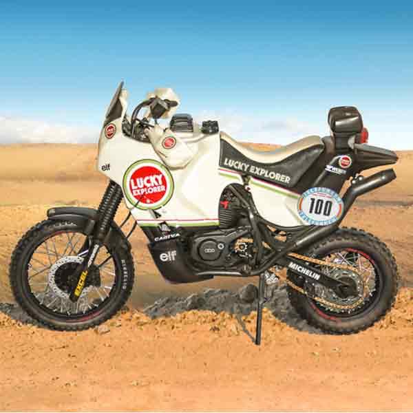 Cagiva Elefant 850 Paris-Dakar 1987 Italeri Scala 1:9