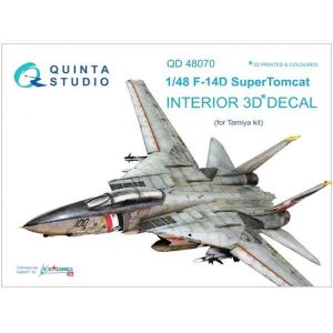 Decal 3D F-14D Quinta Studio