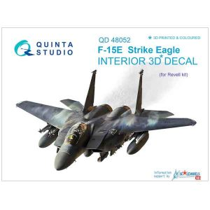 Decal 3D F-15E Strike Eagle Quinta Studio