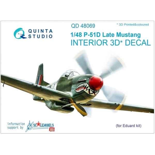 Decal 3D P-51D Quinta Studio