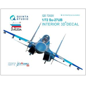 Decal 3D Su-27UB Quinta Studio