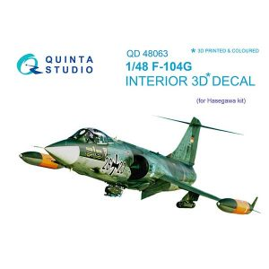F-104G starfighter scala 1:48 quinta studio 48063
