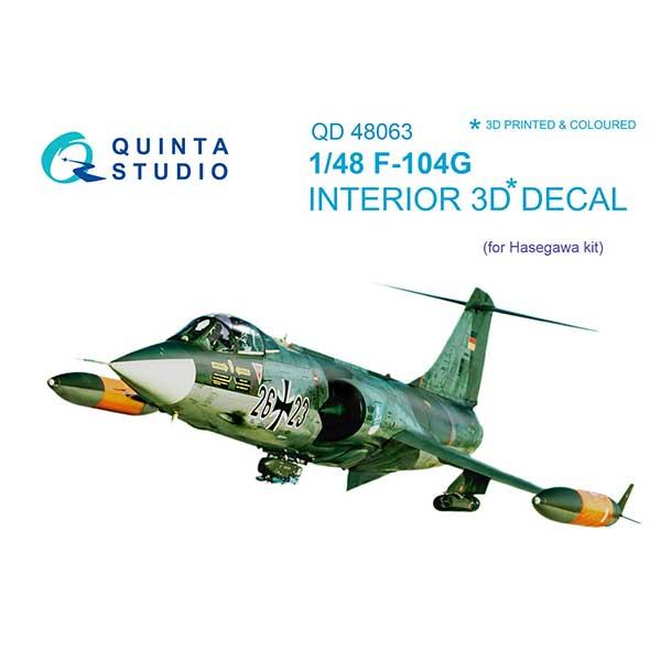 F-104G starfighter scala 1:48 quinta studio 48063