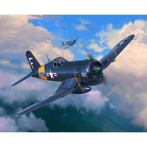 F4U-4 Corsair Vought Revell Scala 1:72 03955