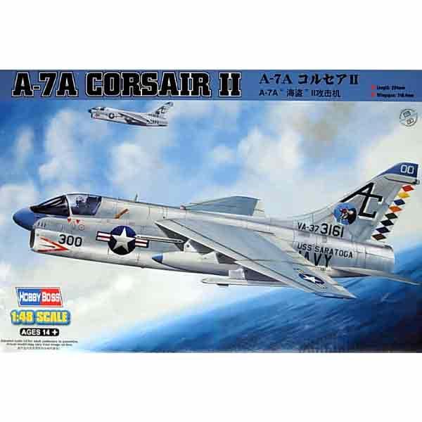 "Hobby Boss A-7A ""Corsair"" II Scala 1:72"
