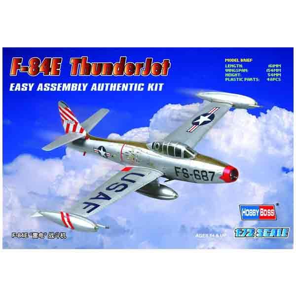 "Hobby Boss F-84E ""Thunderjet"" Scala 1:72"
