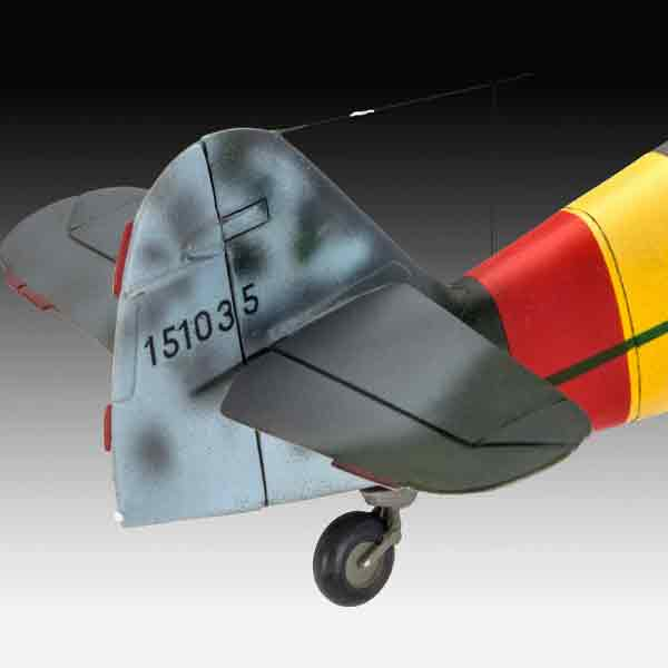 Messerschmitt Bf109 G-10 Caccia WWII Revell Scala 1:48  03958