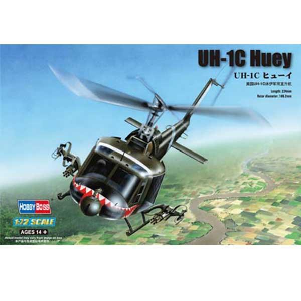 UH-1C huey 1:48 hobbi boss