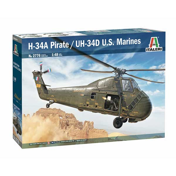 ha-34a pirate italeri scala 1:48