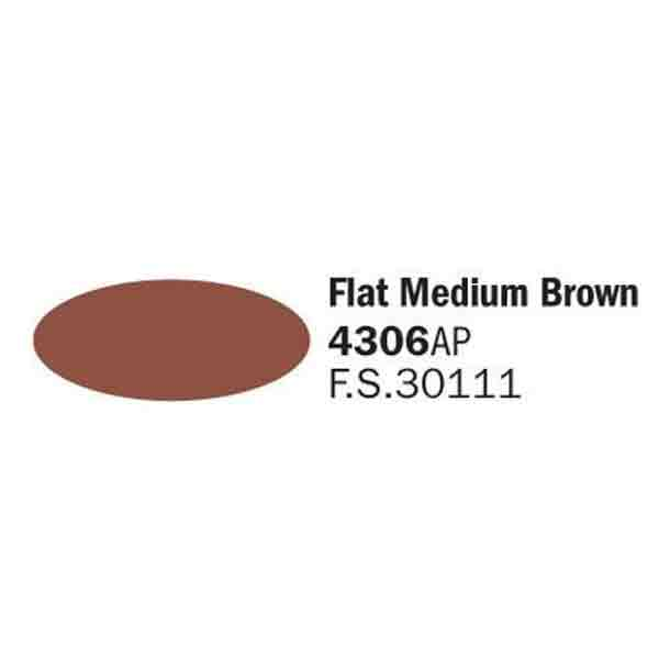 4306AP Flat Medium Brown