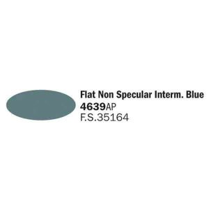 4639AP Flat Non Spec Intermedium Blue