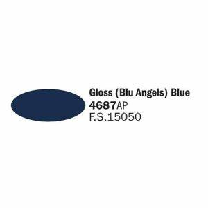Colore italeri 4687 ap blu blue angels