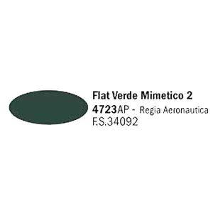 colore italeri 4723AP Flat Verde Mimetico
