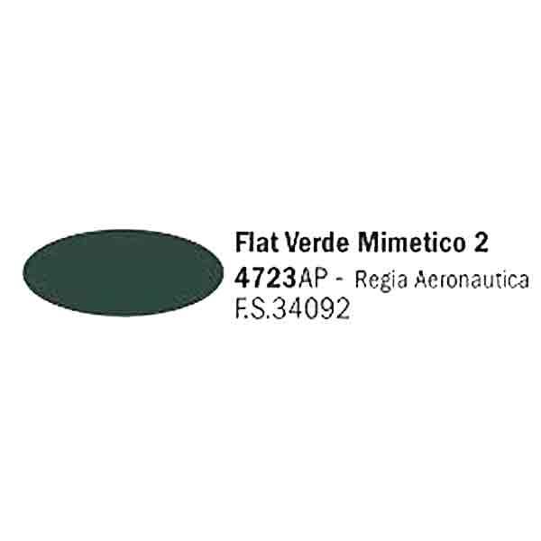 4723AP Flat Verde Mimetico
