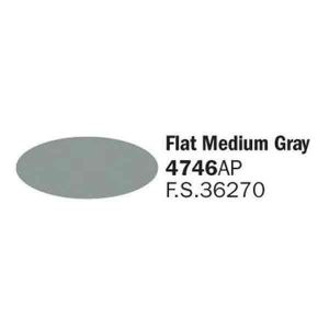 4746AP Flat Medium Gray