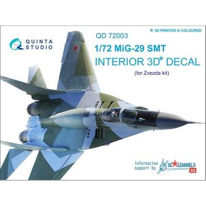 quinta studio decal 3d cockpit mig-29 stm