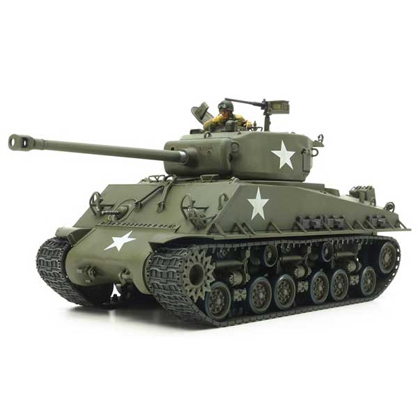 tank m4a3e8 sherman tamiya 35346 scala 1:35