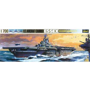 U.S. Aircraft Carrier Essex Hasegawa Scala 1:700