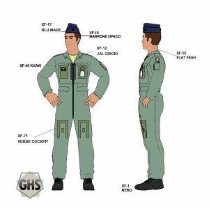 pilota militare aeronautica militare italiana in resina in scala 1:72 48 32