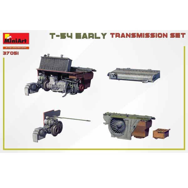 T-54 Early Transmission Set Tamiya Scala 1:35