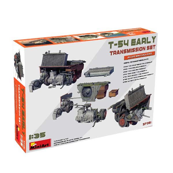 Trasmissione t-54 MiniArt Scala 1:35
