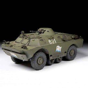 BRDM-2 Veicolo Corazzato da Ricognizione Zvezda Scala 1:35