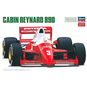 Cabin Reynard 89D F3000 Hasegawa Scala 1:24