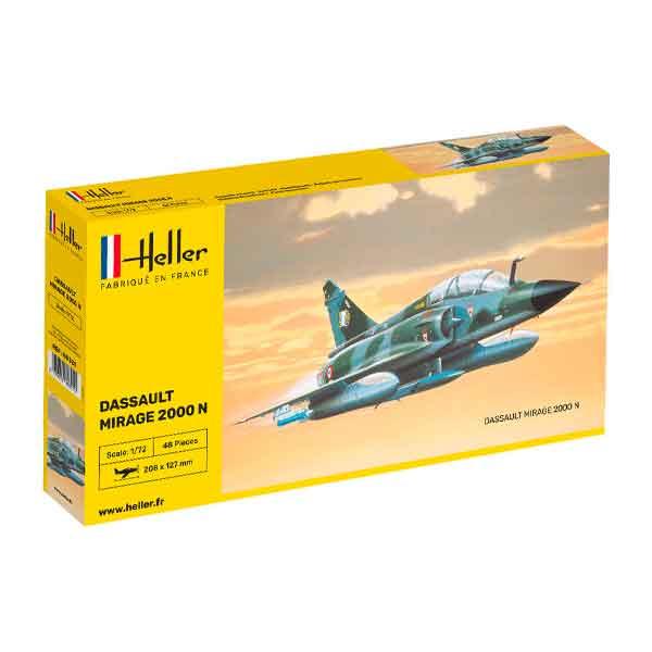 Dassault Mirage 2000 N Heller Scala 1:72