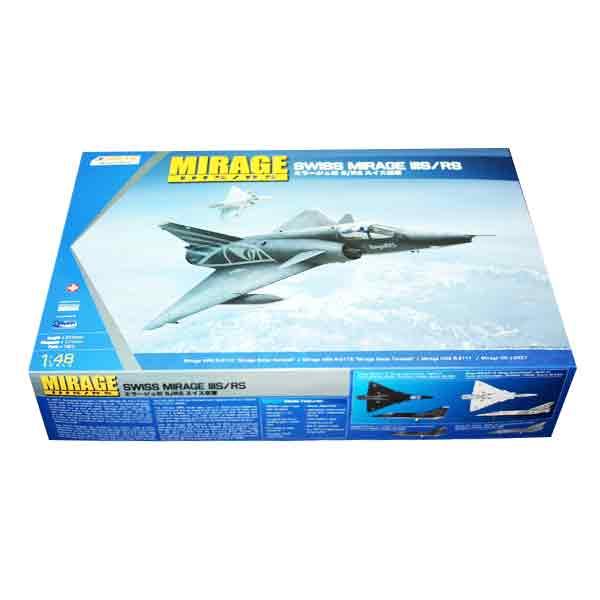 Dassault Mirage IIIS/RS Kinetic Scala 1:48