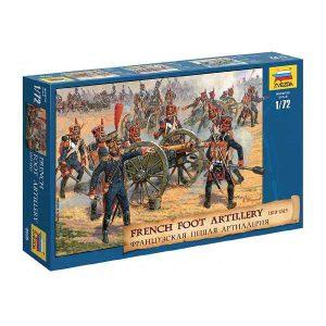 French Foot Artillery - Napoleonic Wars Zvezda Scala 1:72