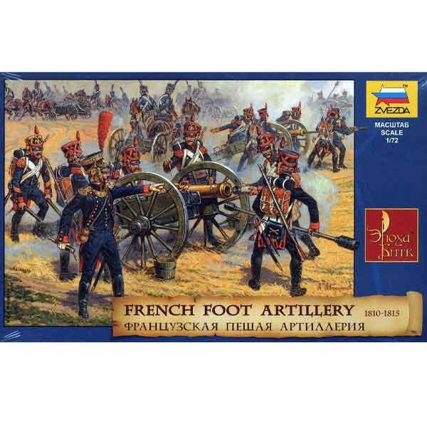French Foot Artillery – Napoleonic Wars Zvezda Scala 1:72