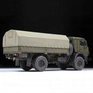 K-4350 Fuoristrada Militare Russo a 2 Assi Zvezda Scala 1:35