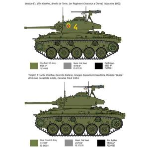M24 Chaffee Guerra di Corea Italeri Scala 1:35
