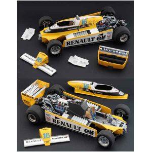 Renault RE 20 Turbo F1 Italeri Scala 1:12
