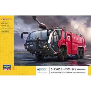 Rosenbauer Panther 6x6 Camion Antincendio Hasegawa Scala 1:72