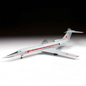 "TU-134UBL ""CRUSTY-B"" Aereo Da Addestramento Zvedza Scala 1:144"