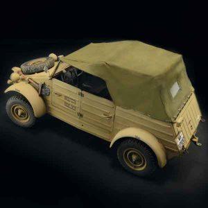 Kdf. 1 Typ 82 Kübelwagen Auto WWII Italeri Scala 1:9