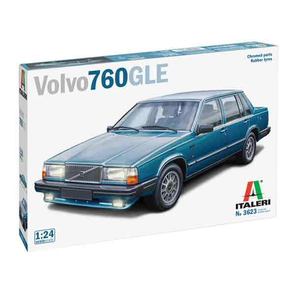 Volvo 760 GLE Italeri Scala 1:24